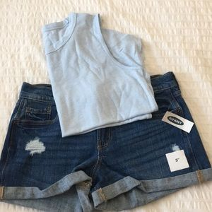 BUNDLE! Old Navy Tank Top and Shorts Set